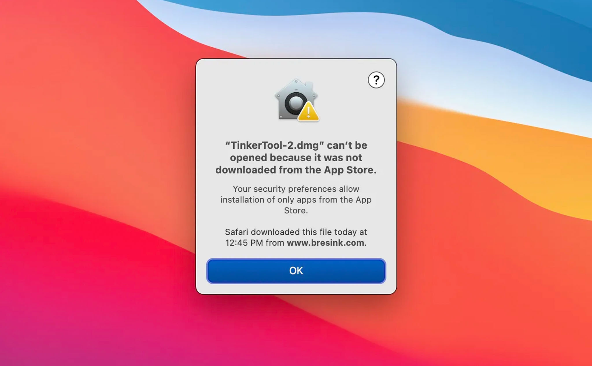 """Cách xử lý tình trạng """"app can't be opened because it was not downloaded from the App Store"""""""