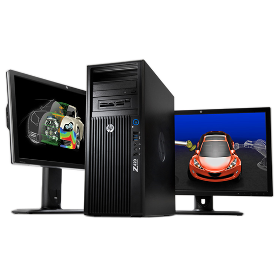 HP Z420 WORKSTATION, XEON E5-1620 3.6HZ/8 CPU/RAM